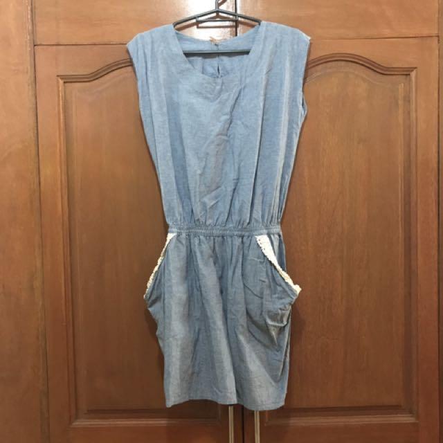 Denim Sheath Dress