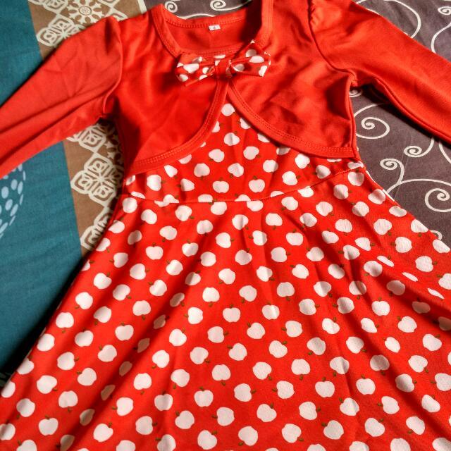 dress anak size 6