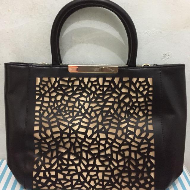 Fancy Golden Bag Oriflame