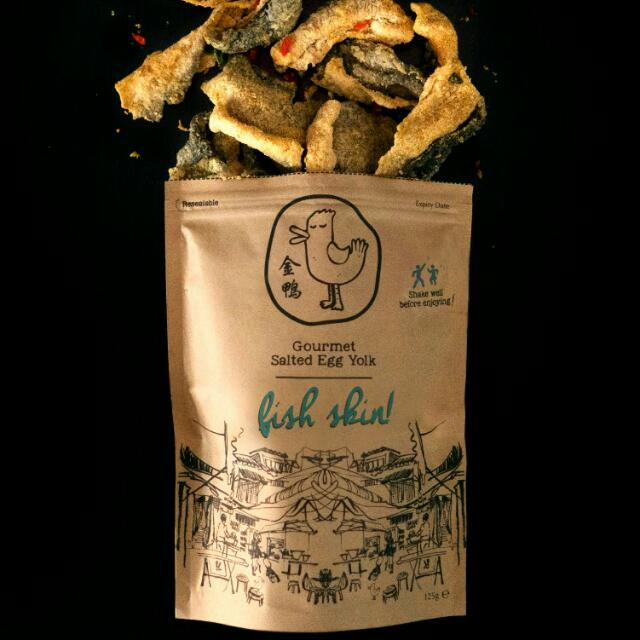 FAST PO GOLDEN DUCK SALTED EGG FISH SKIN & POTATO CRISPS