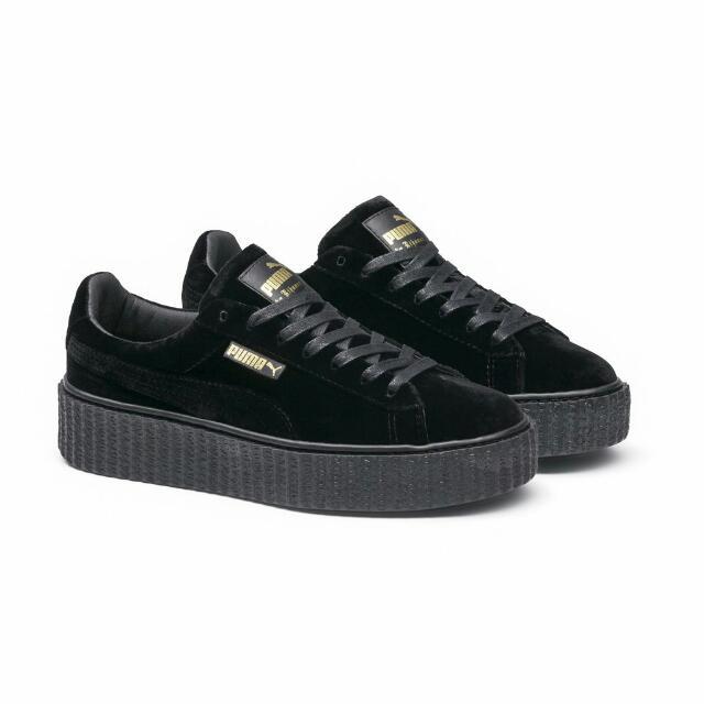 Fenty X Puma Black Velvet Creepers ebb3c453fd26