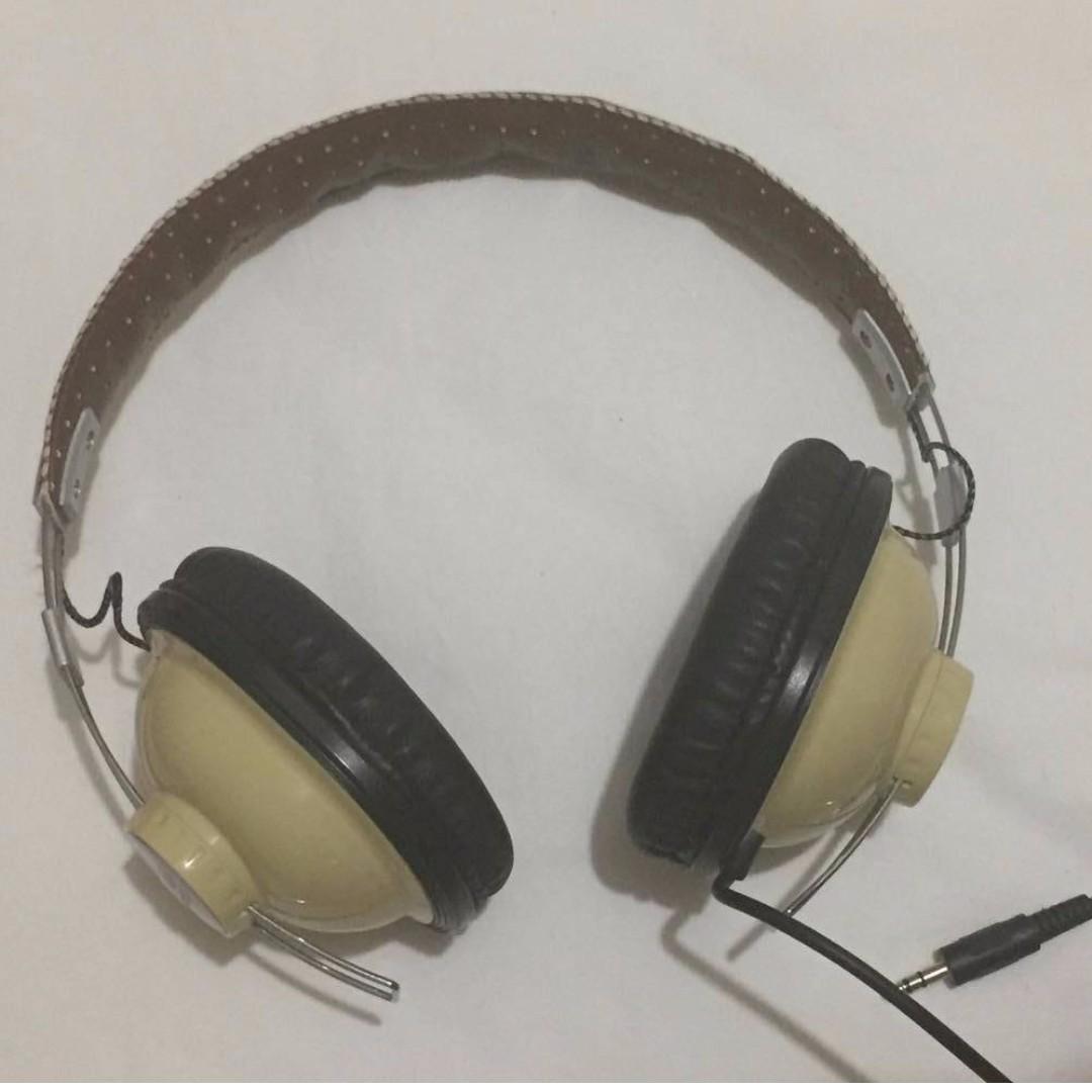 FOR SALE: RETRO VINTAGE CANADIAN CLUB HEADPHONES