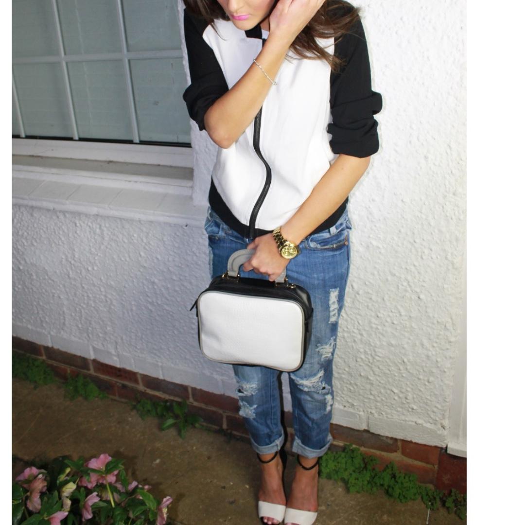 Glamorous Bomber Jacket #SunriseTV