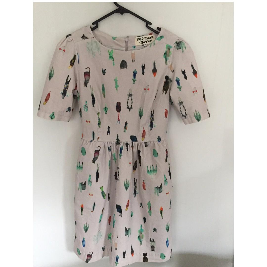 gorman x fred fowler dress (size 6)