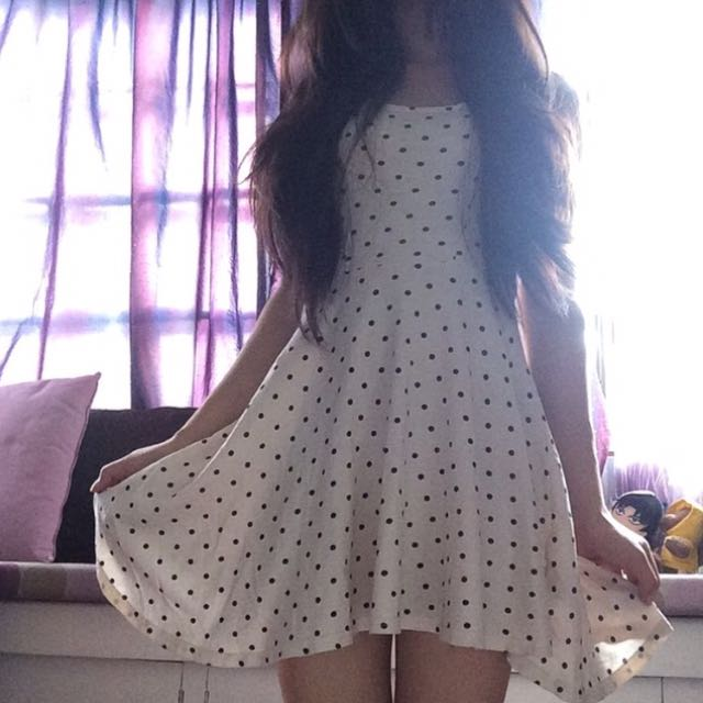 H&M Polka Dotted Dress