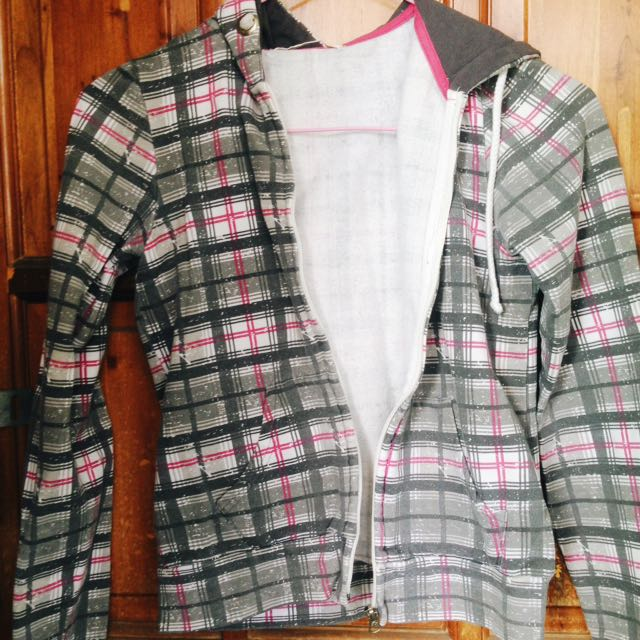 REPRICED! Checkered Hoodie
