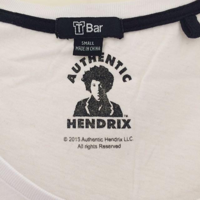 Jimi Hendrix tee size S