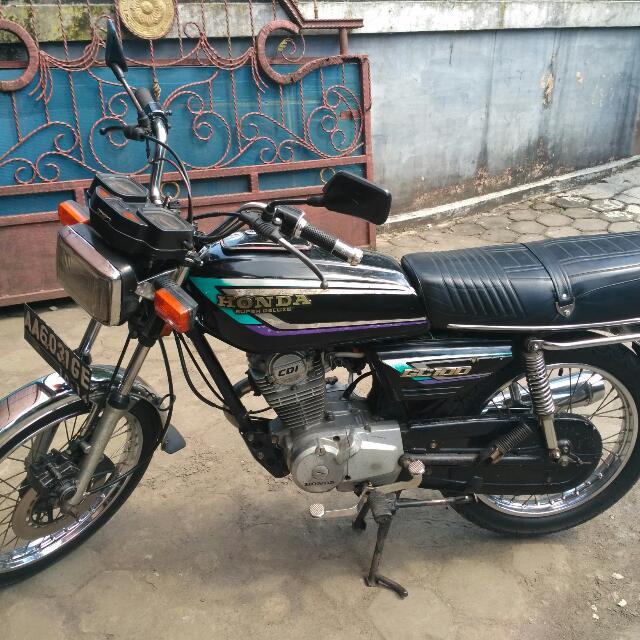Jual Honda Gl100 Original Motor Di Carousell