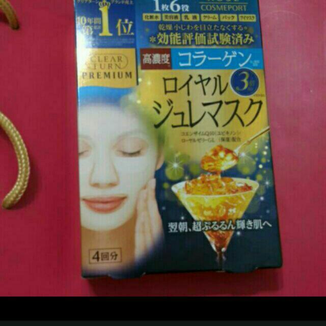 Kose日本高絲蜂王漿面膜4入裝