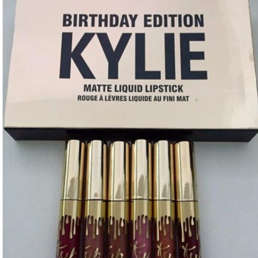 Kylie Holiday Lip Kit Pack