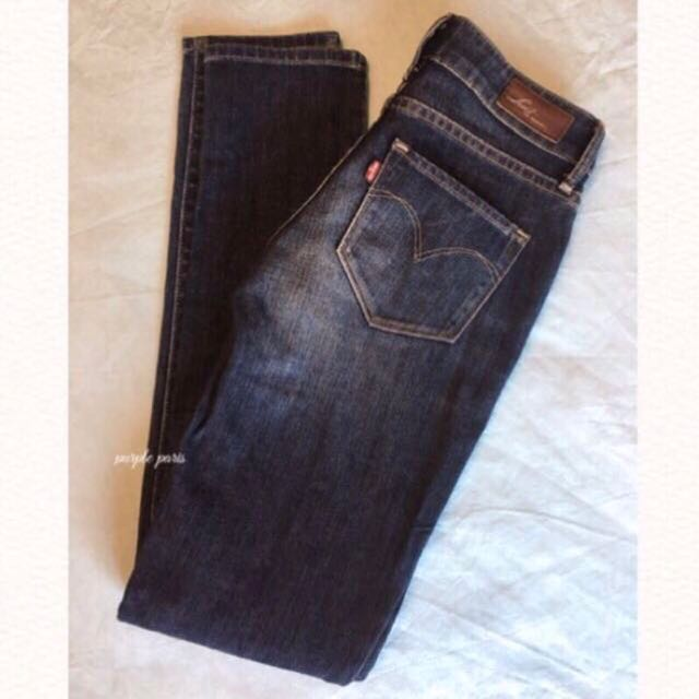 Levi's 日本購回💋窄管牛仔褲 Size.24