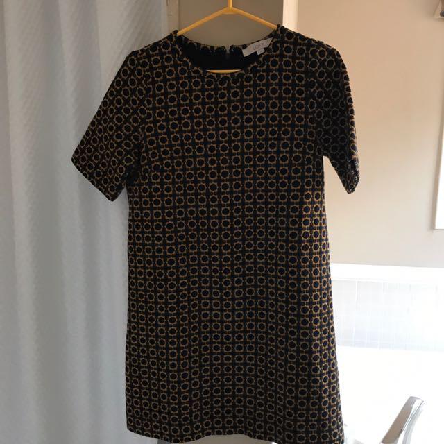 LOFT short sleeved dress