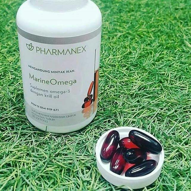 Marine Omega Suplemen Antioksidan