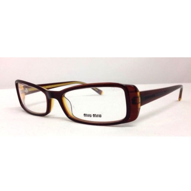 023d5c33b6d6 Miumiu Italy Glasses Spectacles Frames Tortoise Shell Brown