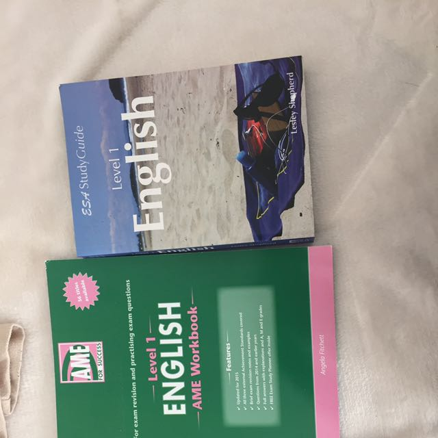 NCEA English Study Guides
