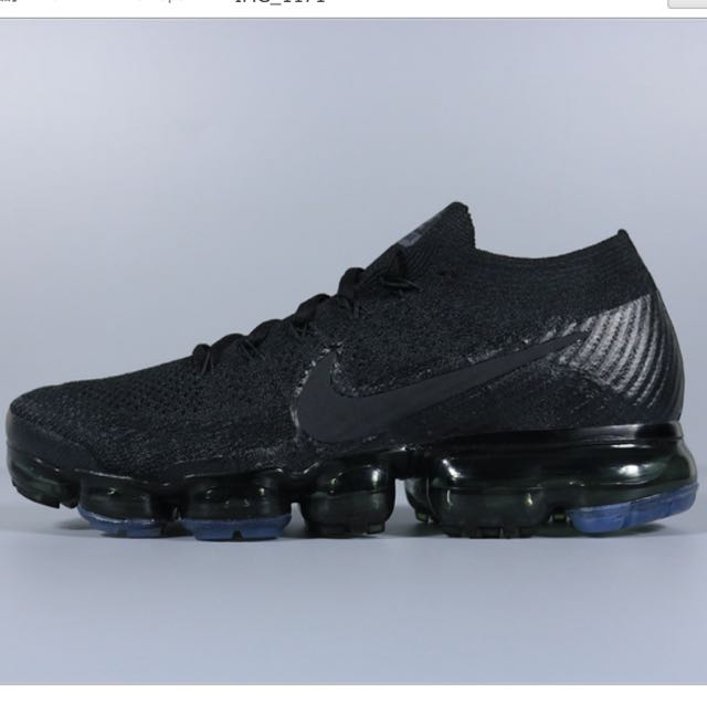 huge selection of 0294c 19a0b Nike Vapormax 2017 All Black