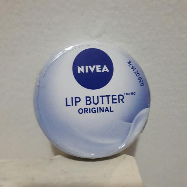 New Nivea Lip Butter Original - Lip balm