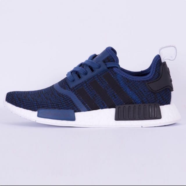 NMD R1 Mystery Blue/ Core-black