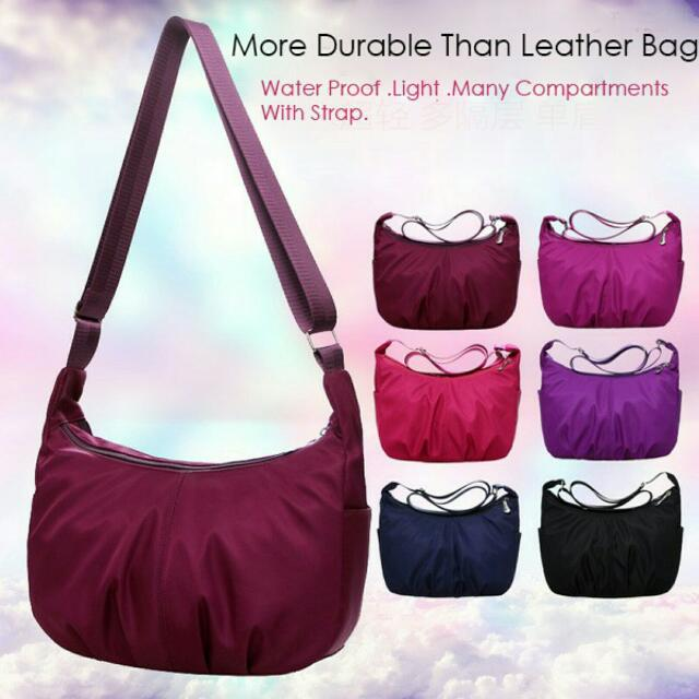 Nylon Handbag Women's Fashion