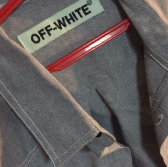 Off white factory defects