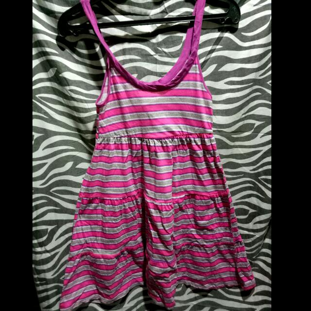 OP Pink Stripe Dress