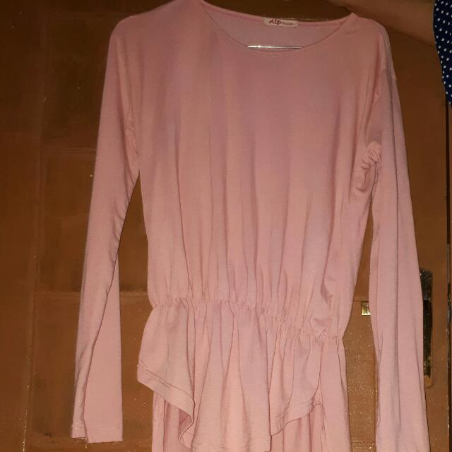 Peach Blouse/dress