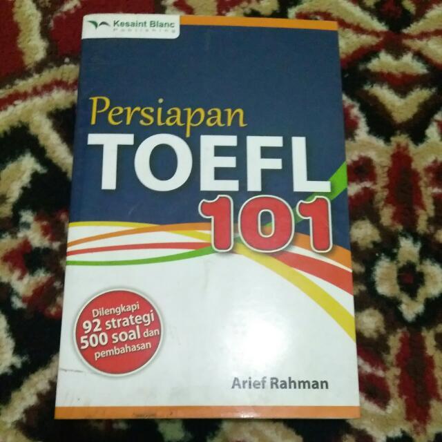 persiapan TOEFL 102