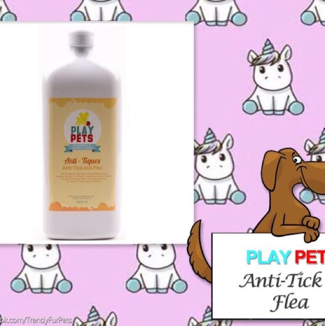 PLAY PETS Anti-Tick & Fleas