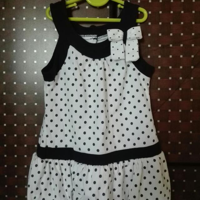 polka dots bloom dress