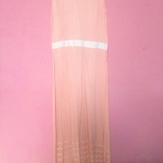 Polkadot Long Dress