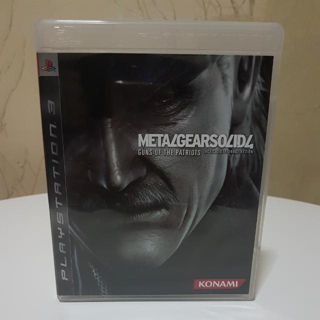 "Preloved PS3 ""METAL GEAR SOLID 4"" (R3) CD"