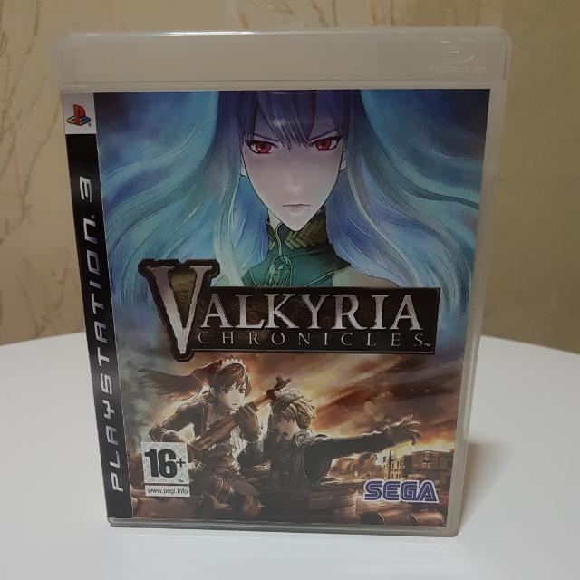 """Preloved PS3 """"VALKYRIA CHRONICLES"""" (R2) CD"""
