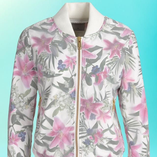 QYOP/DISCOUNT! floral jacket 🔆🌸