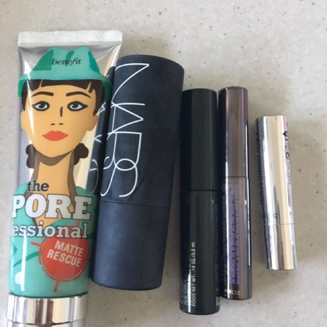 Primer, Highlighter And Mascara