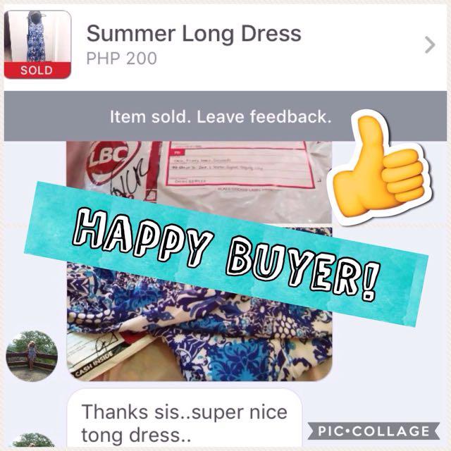 Proof Of Shipment - Happy buyer
