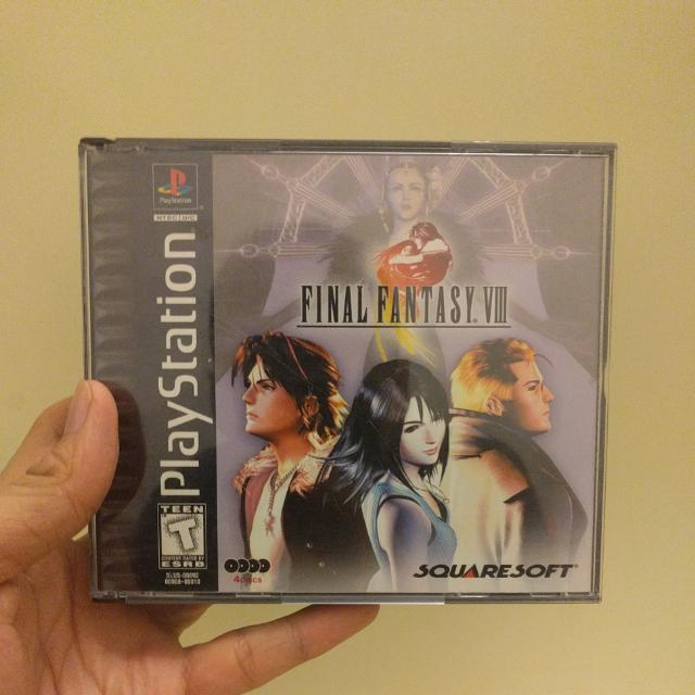 PS1: Final Fantasy VIII
