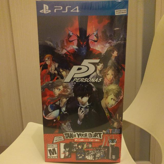 PS4: Persona 5: Take Your Heart Premium Edition