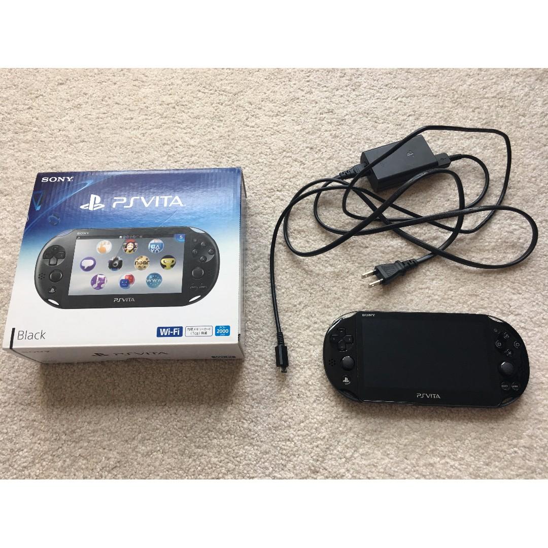 PS Vita Slim (PCH-2000ZA11) Wi-Fi Black with 16GB Micro SD