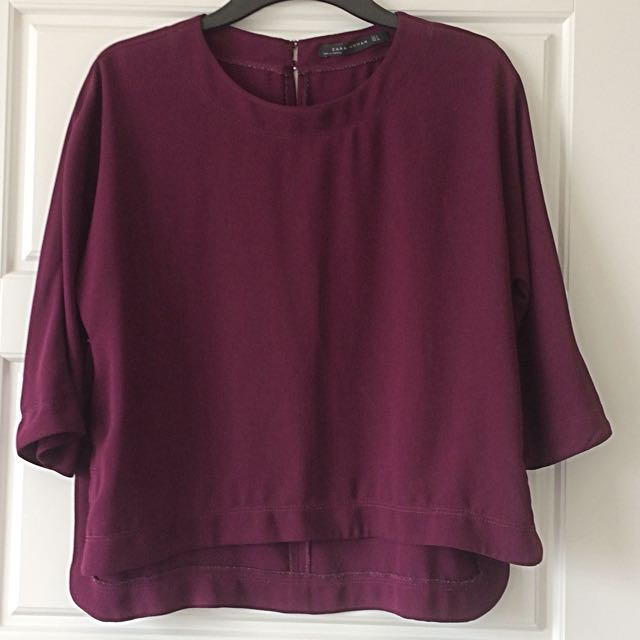 Purple Zara Blouse (S)