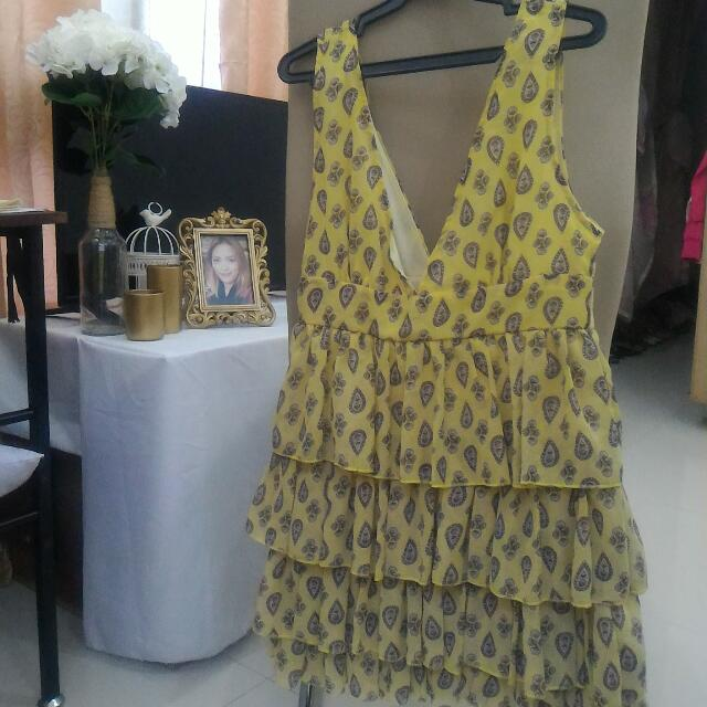 Raffles Yellow Dress