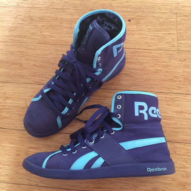 Reebok Classic Women Sneakers - Purple/blue Size 6.5