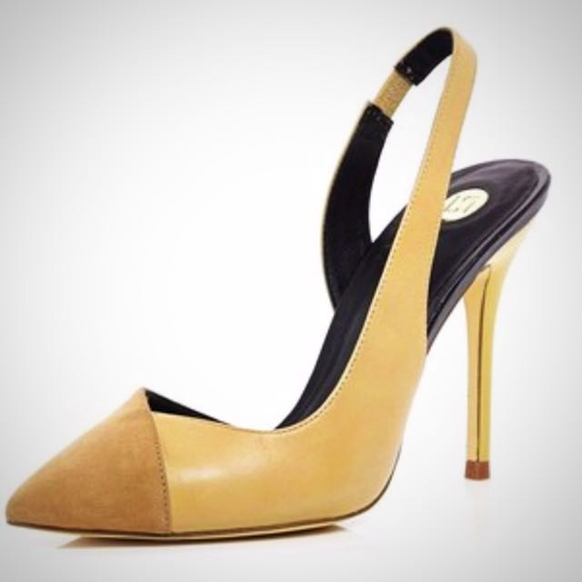 River Island Slingback Heels - barely worn (Size 8)