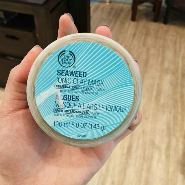 Sale Body Shop Seaweed Clay Mask