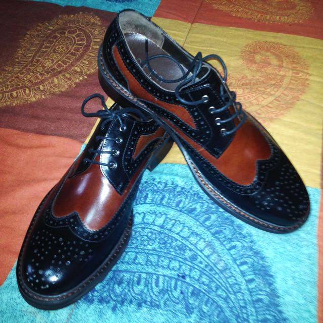 Seed Leather Shoes