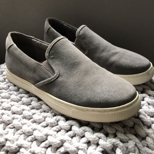 Seed Slip On Leather Shoes
