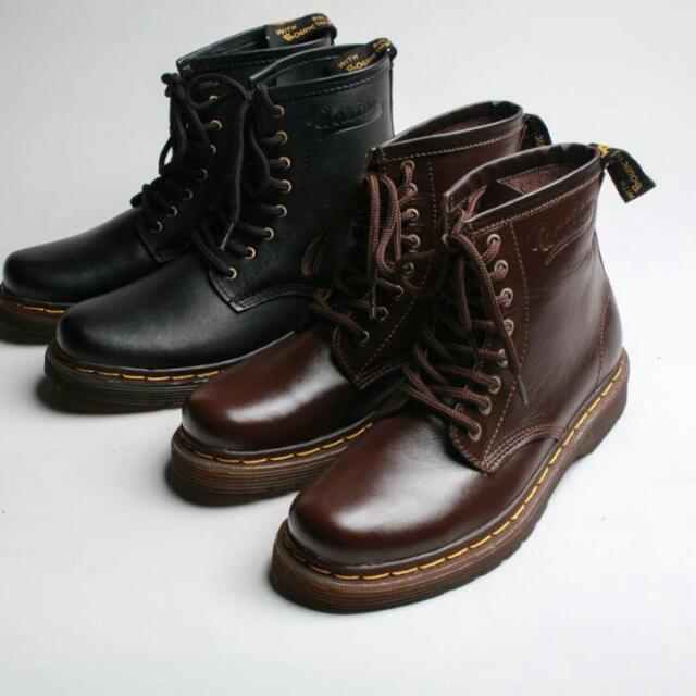 Sepatu Kulit Boots Boston Exodus