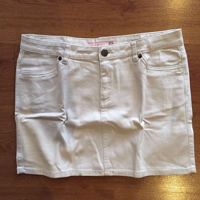 Shana Beige Skirt