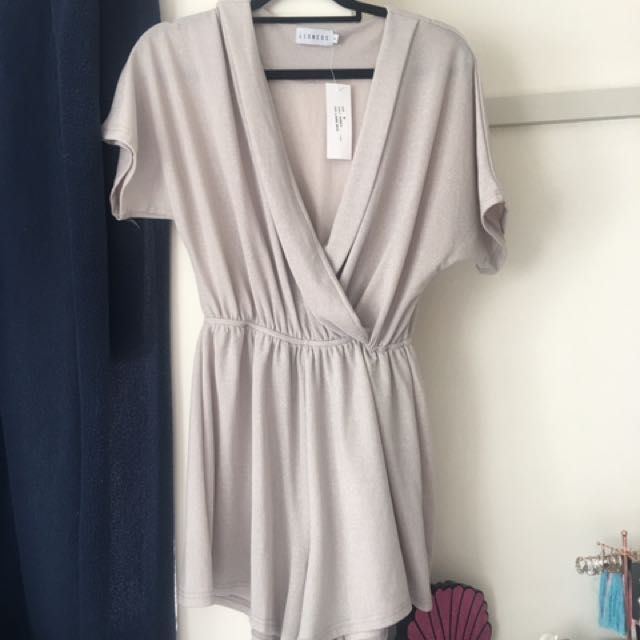 Silver Shimmer Playsuit