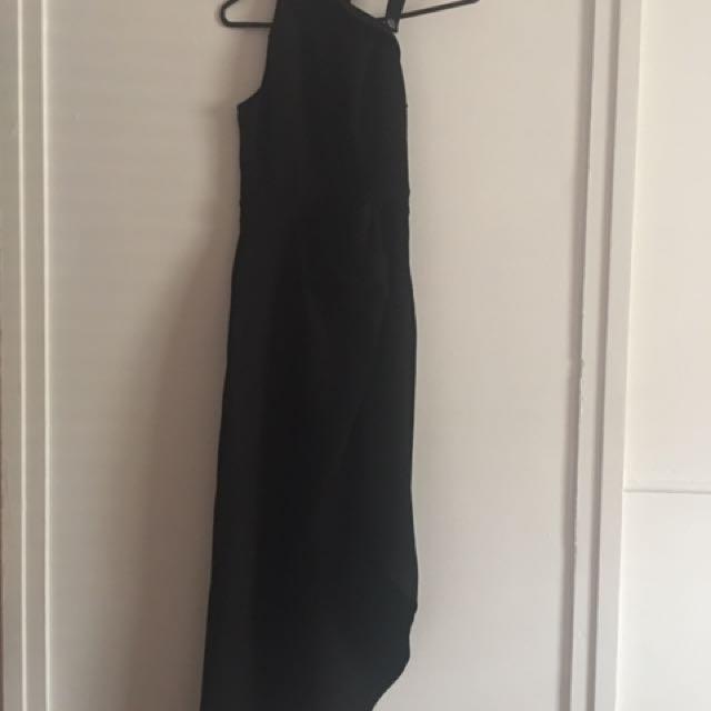 Size 6 Tiger Mist Asymmetrical Maxi Dress