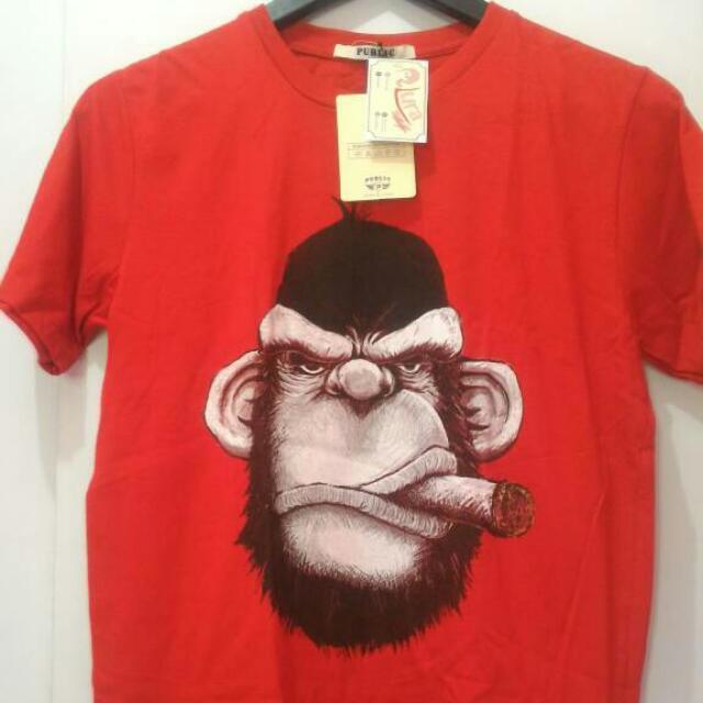 Smokey Gorilla Red Edisi Cuci Gudang